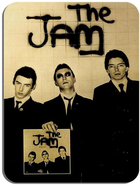 The Jam Mouse Mat. High Quality Punk Rock Music Mouse Pad