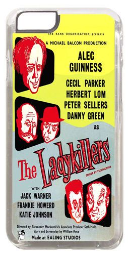The Lady Killers Ealing Studios Movie Film Poster Cover/Case Fits iPhone 6/6S