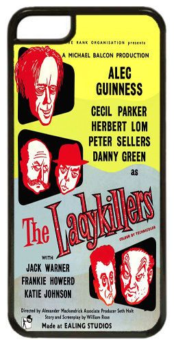 The Lady Killers Ealing Studios Movie Film Poster Cover/Case Fits iPhone 7/7S