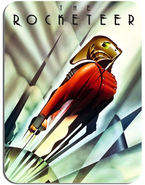 The Rocketeer Movie Poster Mouse Mat. Film Novelty Mouse pad