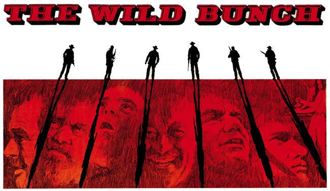 The Wild Bunch Movie Poster T-Shirt. Sam Peckinpah Film. Gents & Ladies Sizes