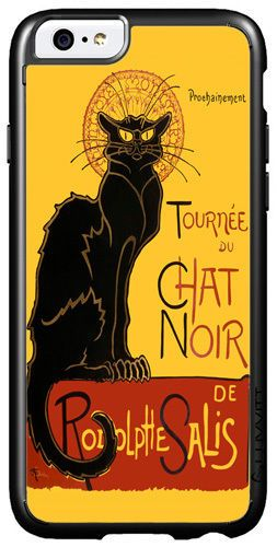Tournee du Chat Noir Steinlen Black Cat Art Print Cover/Case For iPhone 6