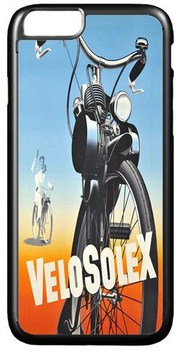 Velosolex Classic Moped Vintage Ad Motorcycle High Quality Case For iPhone 7/7S