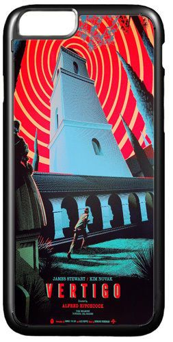 Vertigo Vintage Poster Cover/Case Fits iPhone 7/7S 6/6S 6+/6+S. Alfred Hitchcock