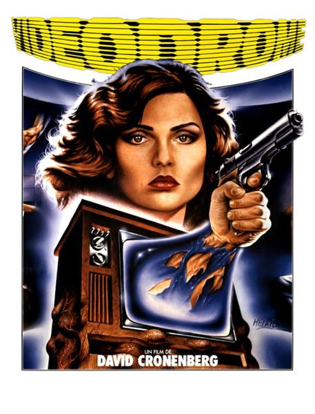 Videodrome Movie T-Shirt. Gents Ladies & Kids Sizes Debbie Harry Cronenberg Film