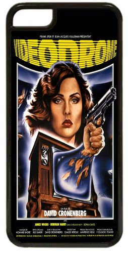 Videodrome Vintage Movie Poster Quality Cover/Case For iPhone 5C. Cronenberg