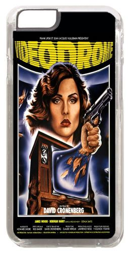 Videodrome Vintage Movie Poster Quality Cover/Case For iPhone 6/6S. Cronenberg