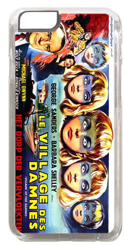 Village of the Damned Children Movie Cover/Case Fits iPhone 6 Horror Film Gift
