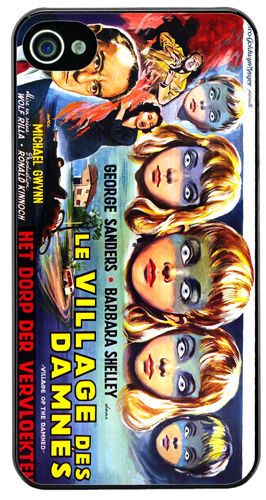 Village of the Damned Children Movie HD Cover/Case Fits iPhone 4/4S Horror Film