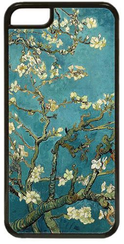 Vincent Van Gogh Blossoming Almond Tree High Quality Cover Case For iPhone 5C