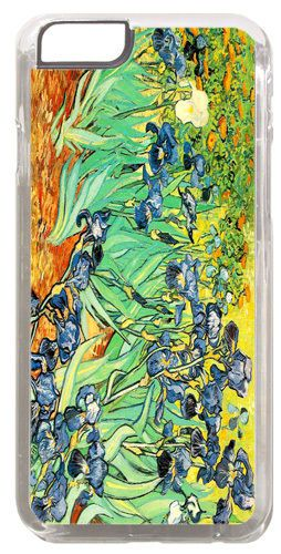 Vincent Van Gogh Irises Cover/Case Fits iPhone 6 PLUS + /6 PLUS S. Fine Art