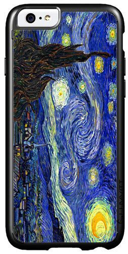 Vincent Van Gogh Starry Night High Quality Cover/Case For iPhone 6. Art Gift