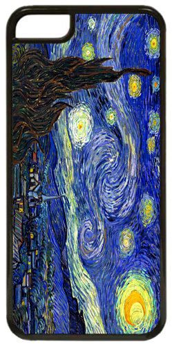 Vincent Van Gogh Starry Night Quality Cover/Case For iPhone 5C. Fine Art Present