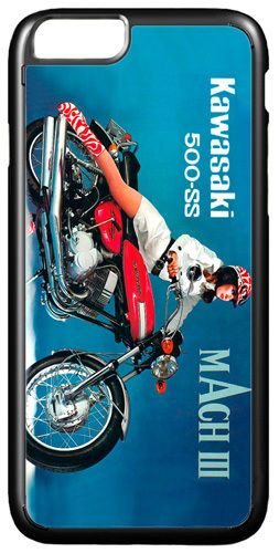 Vintage 500 H1 Mach III 3 Motorcycle Ad HD Cover/Case For iPhone 7/7S Motorbike