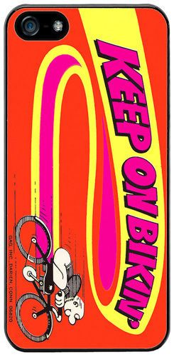 Vintage 70's Bicycle Poster High Quality Cover/Case Fits iPhone 5/5S. Bike Gift