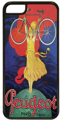Vintage French Bicycle Advert Poster High Quality Cover/Case For iPhone 5C. Gift