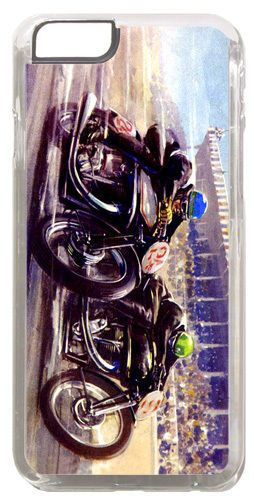 Vintage Motorcycle Race Cover/Case Fits iPhone 6 PLUS + /6 PLUS S. Motorbike
