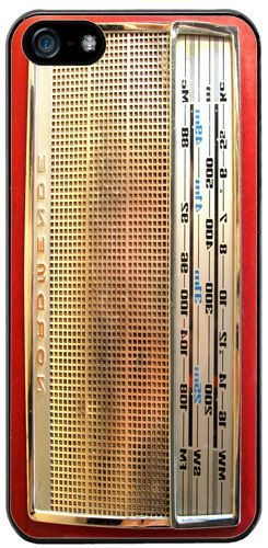 Vintage Radio Nordmende Transita Deluxe Cover/Case Fits iPhone 5/5S. Transistor