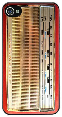Vintage Radio Nordmende Transita Deluxe High Quality Cover/Case Fits iPhone 4/4S