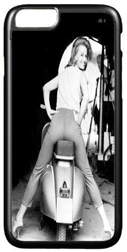 Vintage Scooter & Angie Dickinson High Quality Cover/Case For iPhone 7/7S Mod