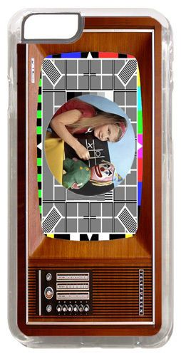Vintage Television Set Cover/Case Fits iPhone 6/6S. The Test Card In Colour TV