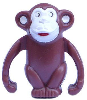 Wind Up Monkey. Clockwork Ape
