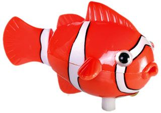 Wind up Swimming Clownfish