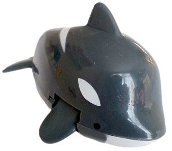 Wind up Swimming Killer Whale