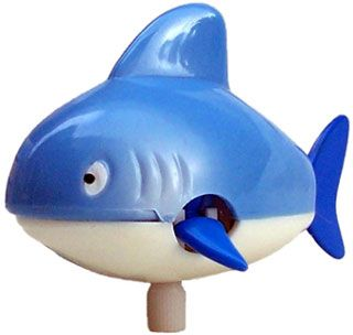 Wind up Swimming Shark