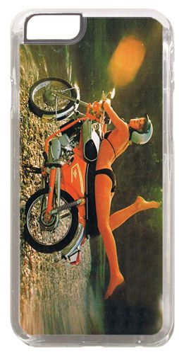 Zundapp Girl Motorcycle Ad Cover/Case For iPhone 6/6S. Classic Motorbike Gift